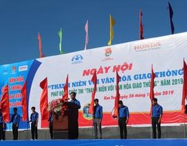 """Honda Việt Nam phát động """"Thanh niên với văn hóa giao thông"""""""
