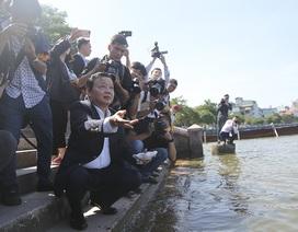 Bộ trưởng Trần Hồng Hà nói gì về công nghệ xử lý nước ô nhiễm của Nhật Bản?