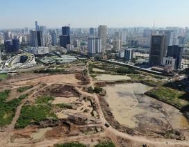 Hà Nội: Toàn cảnh dự án công viên, hồ điều hòa nghìn tỷ sau 3 năm xây dựng