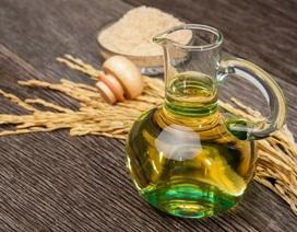 Dầu gạo trở thành xu hướng tiêu dùng mới nhờ những lợi ích tuyệt vời cho sức khỏe