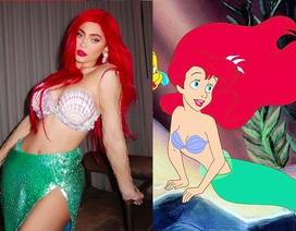"""Nữ tỉ phú trẻ nhất thế giới khiến Instagram """"bùng nổ"""" khi hoá nàng tiên cá dịp Halloween"""