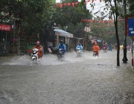 Quảng Nam: Nhiều nơi cho học sinh nghỉ học do mưa bão
