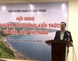 Gần 300 nhà báo dự tập huấn bồi dưỡng kiến thức về biển, đảo Việt Nam
