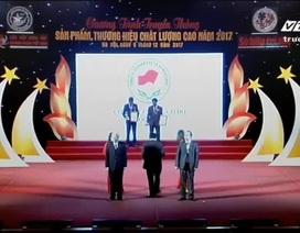 Goldhealth Việt Nam nhận giải thưởng thương hiệu Việt Nam chất lượng cao