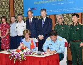 Việt Nam bàn giao 37 hecta sân bay Biên Hòa để Mỹ khử độc dioxin