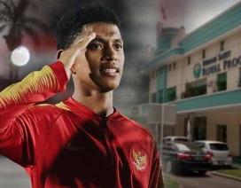 Tuyển thủ U16 Indonesia qua đời vì động đất