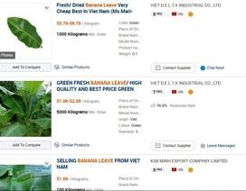 """Lông mi, hương trầm, lá chuối xuất khẩu rầm rộ thông qua """"gã khổng lồ"""" Alibaba.com"""