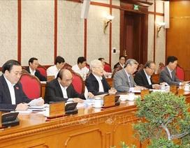 Tổng Bí thư chủ trì họp Bộ Chính trị sửa quy định về Ban Chỉ đạo phòng chống tham nhũng