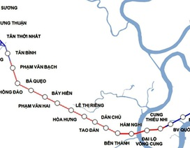 Tuyến Metro số 2 TPHCM: 10 năm chật vật, đội vốn gấp 2 vẫn chưa thể bắt đầu