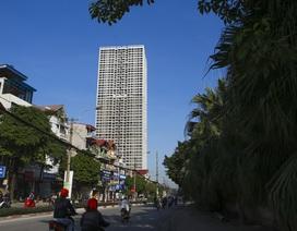 """Những tòa cao ốc bỏ hoang sừng sững giữa """"đất vàng"""" Hà Nội"""
