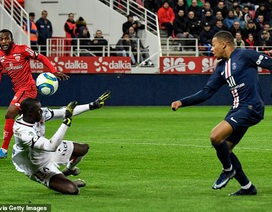 Mbappe ghi bàn, PSG vẫn nhận thất bại cay đắng trước đội cuối bảng Dijon