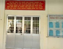 """Chủ tịch Cà Mau chỉ đạo xử lý việc phòng một cửa """"vắng tanh"""" trong giờ làm việc"""