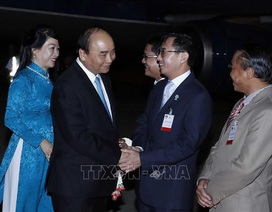 Thủ tướng đến Thái Lan, bắt đầu chuyến tham dự Hội nghị Cấp cao ASEAN lần thứ 35