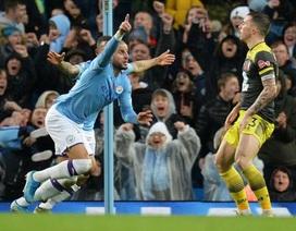Man City 2-1 Southampton: Chiến thắng khó nhọc