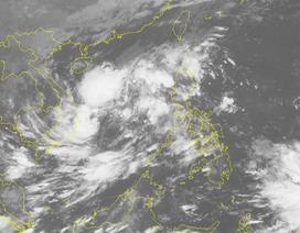 Xuất hiện một vùng áp thấp trên Biển Đông
