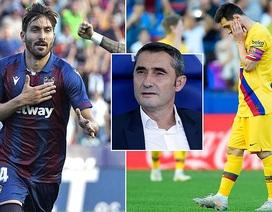 Messi ghi bàn, Barcelona vẫn thua sốc trước Levante