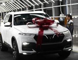 VinFast tiếp tục tăng giá xe theo lộ trình