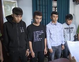 4 sinh viên rủ nhau cướp tài sản của người đi đường
