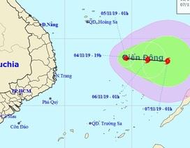Hình thành áp thấp nhiệt đới ở Biển Đông