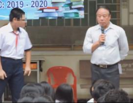 """Đăng clip học sinh xin lỗi vì """"nhục mạ"""" nhóm nhạc Hàn Quốc: Trường bị kiểm điểm"""