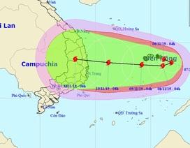 Hình thành bão số 6 trên Biển Đông