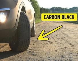 Vì sao vạch qua đường màu trắng còn lốp xe lại luôn có màu đen?