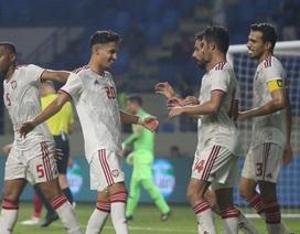 """UAE triệu tập """"lão tướng"""" có duyên ghi bàn vào lưới Việt Nam"""