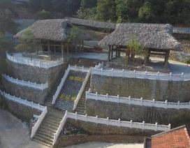 """Công trình """"bí ẩn"""" trên núi Lạng Sơn từng là bối cảnh phục vụ đoàn phim Trung Quốc?"""