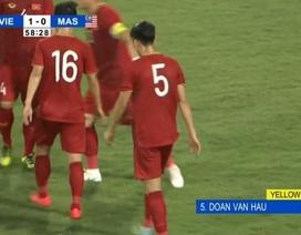 Quang Hải nhận thẻ vàng oan do nhầm lẫn của FIFA