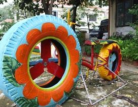 """""""Hành trình thứ 2 của lốp xe"""" đầy ý nghĩa của thanh niên Quảng Nam"""