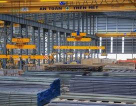 Sản lượng thép xây dựng Hòa Phát tăng 12,5% so với cùng kỳ