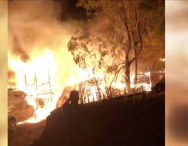 Người hùng 12 tuổi cứu bố khỏi ngôi nhà đang cháy
