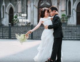 """Bộ ảnh cưới lãng mạn của cặp đôi """"tuổi 30 trong vóc dáng trẻ lên 6"""""""