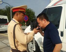 Hà Nội tăng cường xử lý lái xe vi phạm nồng độ cồn