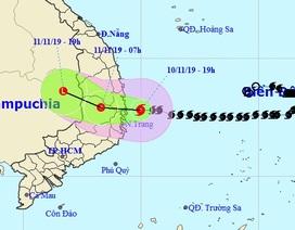 Bão số 6 suy yếu thành áp thấp nhiệt đới, nhiều nơi tiếp tục mưa to