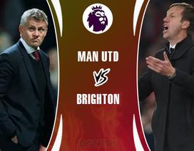 Không muốn đua trụ hạng, Man Utd buộc phải thắng Brighton