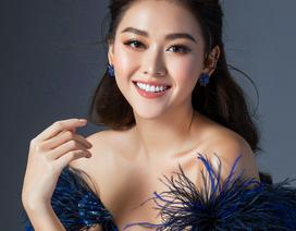 Tường San hé lộ váy dạ hội gợi cảm trước thềm chung kết Hoa hậu Quốc tế
