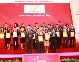 Bưu điện Việt Nam dẫn đầu lĩnh vực bưu chính chuyển phát tại Top 500 VNR
