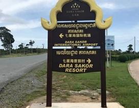 Nghi vấn mục đích quân sự của đường băng do Trung Quốc xây dựng tại Campuchia