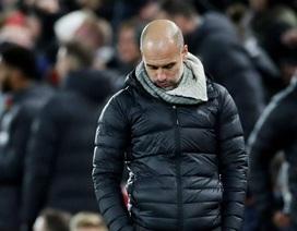 Những khoảnh khắc ôm hận của Man City trước Liverpool