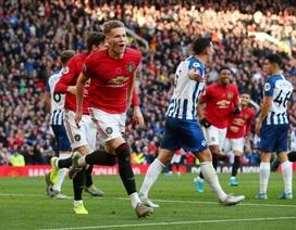 Nhìn lại chiến thắng quan trọng của Man Utd trước Brighton
