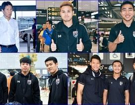 Dàn cầu thủ ở nước ngoài hội quân cùng tuyển Thái Lan, chuẩn bị đấu Malaysia và Việt Nam