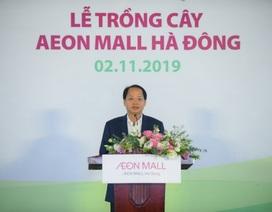 """AEON – Hà Đông """"dệt"""" mảng xanh cho cộng đồng địa phương trước khai trương"""