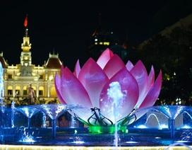 TPHCM: Phố đi bộ Nguyễn Huệ trình diễn nhạc nước hàng đêm