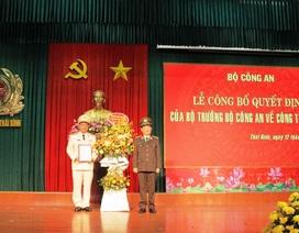 Công an tỉnh Thái Bình có tân Giám đốc