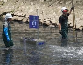 """""""Chia tay"""" sông Tô Lịch, công nghệ Nhật được giới thiệu làm sạch """"ao tù"""""""
