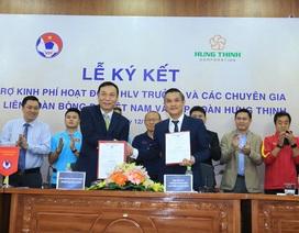 VFF ký hợp đồng, trả lương cho dàn trợ lý của HLV Park Hang Seo