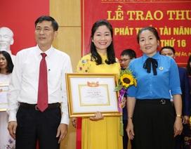Nghệ An: Trao thưởng cho các nhà giáo góp phần phát triển tài năng giáo dục