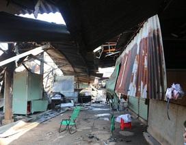 Cháy chợ trong đêm, 30 ki ốt bị thiêu rụi