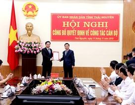 Ông Lê Quang Tiến giữ chức Phó Chủ tịch UBND tỉnh Thái Nguyên